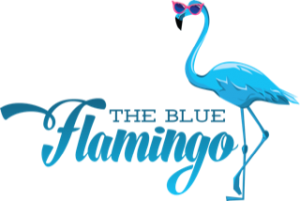 The Blue Flamingo Logo